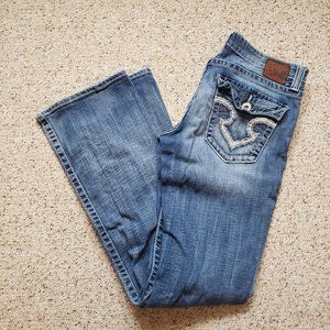 Big Star Remy Low Rise Boot Jeans 30L